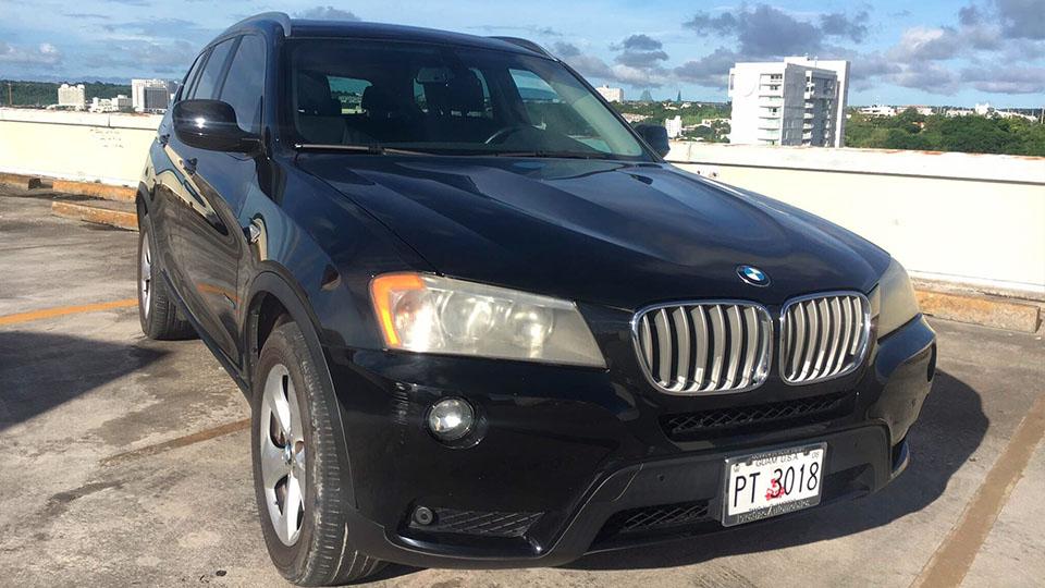 グアムレンタカー-BMW X3